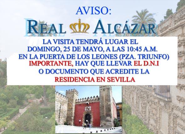 AVISO REAL ALCAZARweb