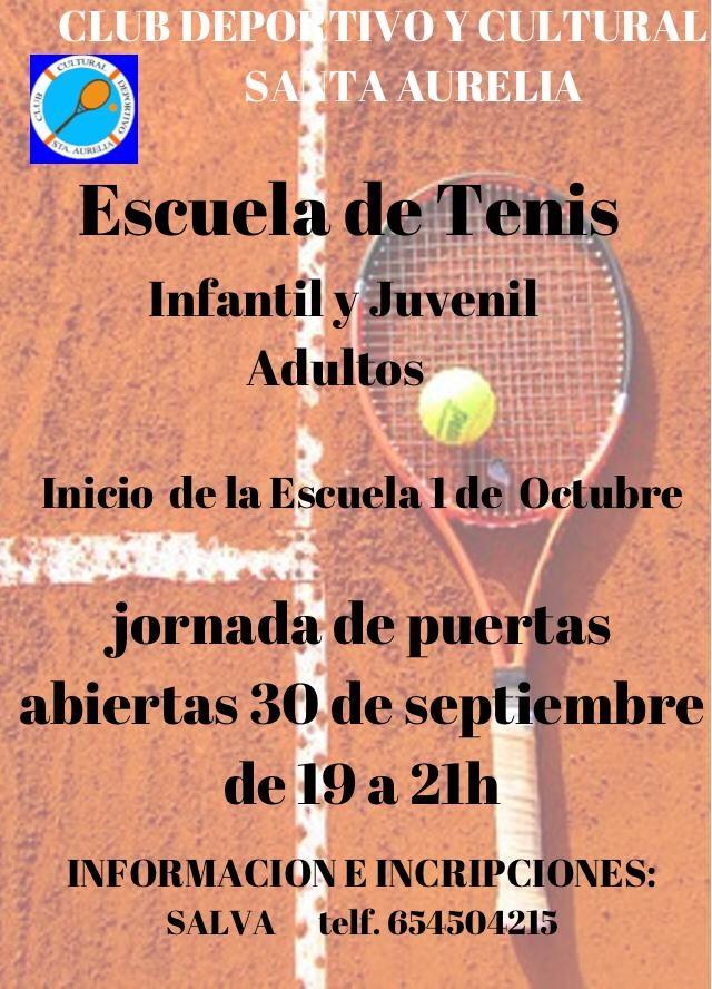 cartel tenis