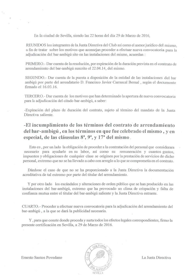 Nota Junta Directiva