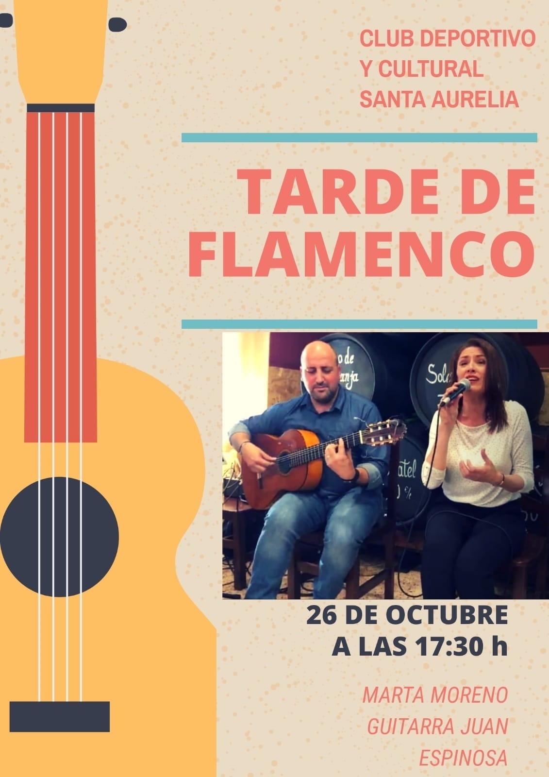 cartel flamenco bar dia 26 10 19
